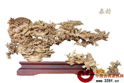 木雕艺术作品展
